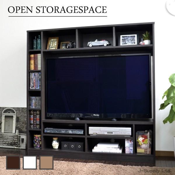 テレビ台 スーパーセール期間限定 ハイタイプ 50インチ 壁面家具 大人気 リビング壁面収納 50インチ対応 ゲート型AVボード 135cm幅 tcp362 TV台 新生活