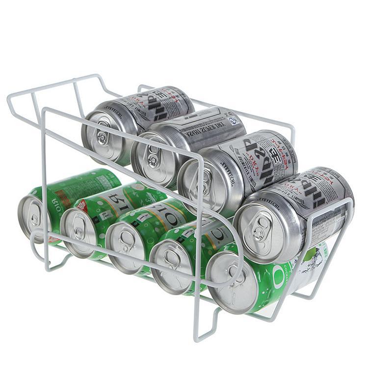 飲料収納ラック ビール収納 10缶収納 コロコロ缶ラック 350ml 缶 2020 新作 商い ディスペンサー 冷蔵庫収納グッズ ホルダー 収納用品 ストッカー