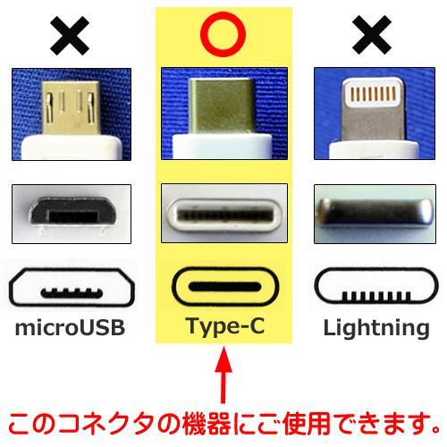 タイプC TYPE-C AC 充電器 急速充電 アダプター コンセント スマホ スマートフォン タブレット ゲーム 2.4A 太めのコード 1.5m|hometec|05
