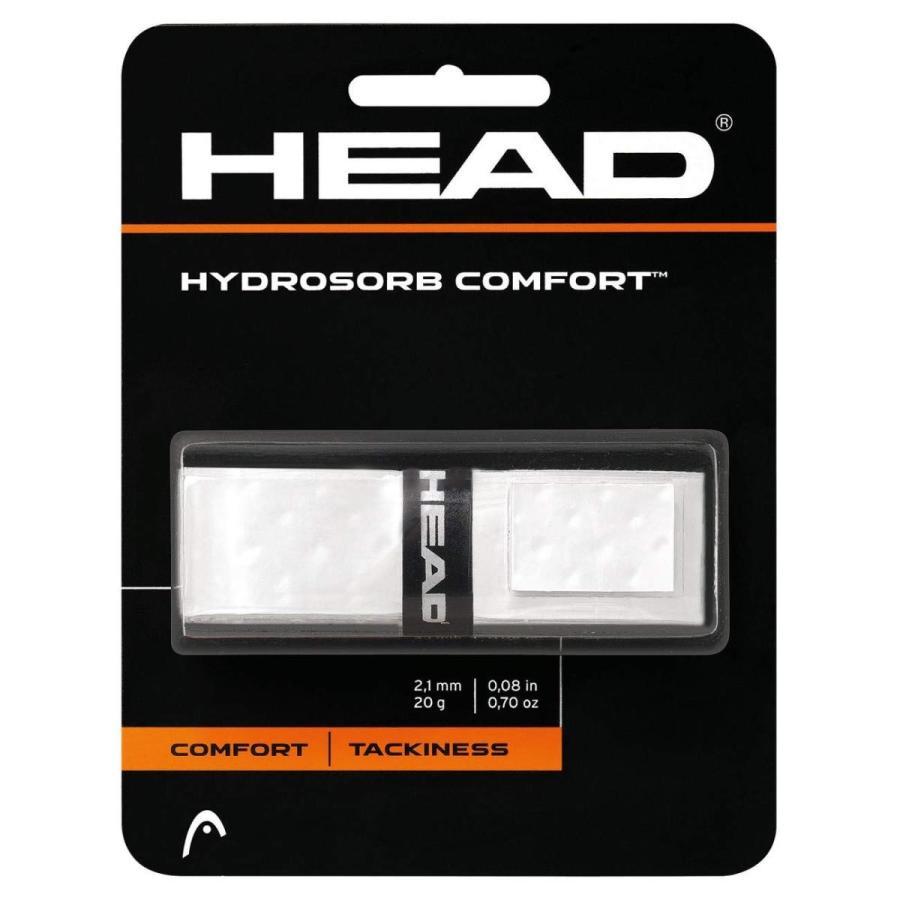 HEAD(ヘッド) テニス リプレイスメントグリップ ハイドロゾーブ・コンフォート ホワイト 285313|homeyayafutenn