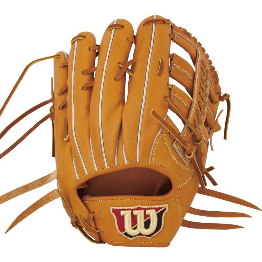 高級素材使用ブランド Wilson(ウイルソン) 野球 グラブ(グローブ) 硬式 用 Wilson Staff(ウイルソンスタッフ) 外野手用(左投げ) 8S型(しっかり開, オゴオリシ fe99ff45