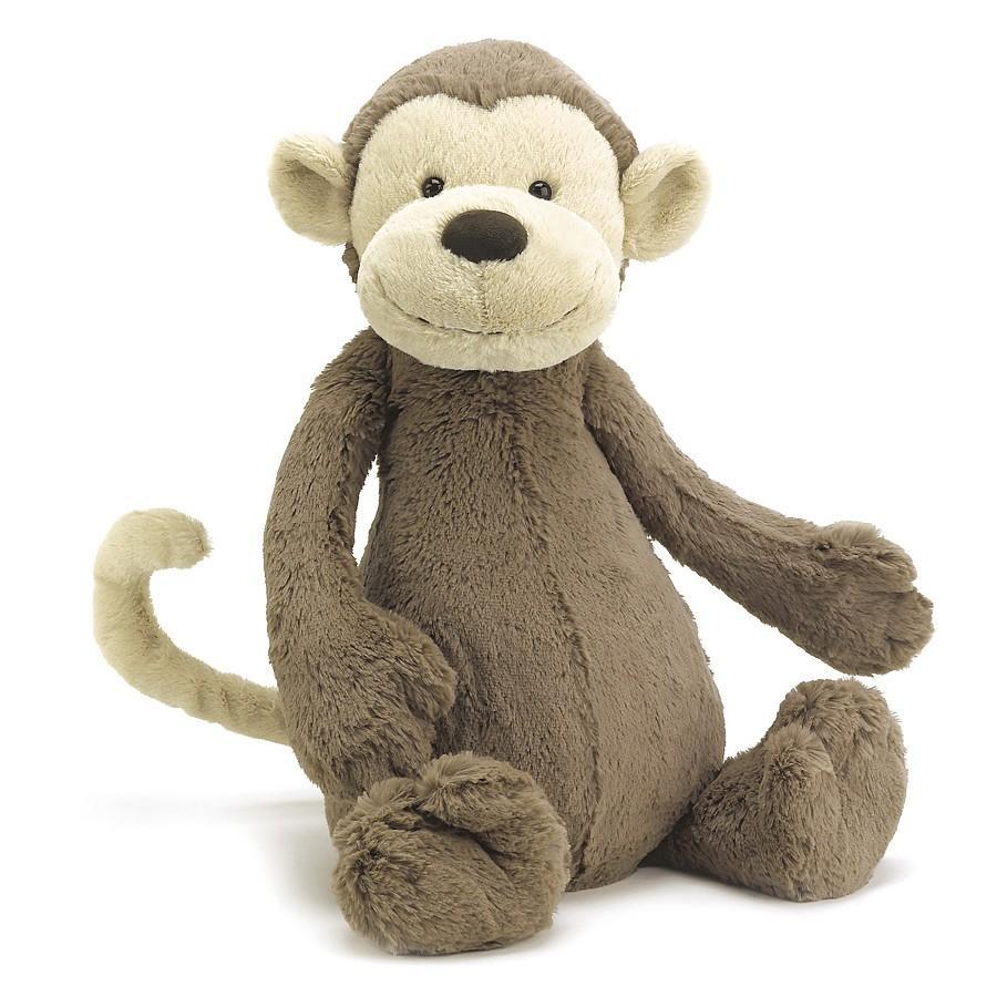 Bashful Monkey Huge JELLYCAT ぬいぐるみ サル Mサイズ ジェリーキャット