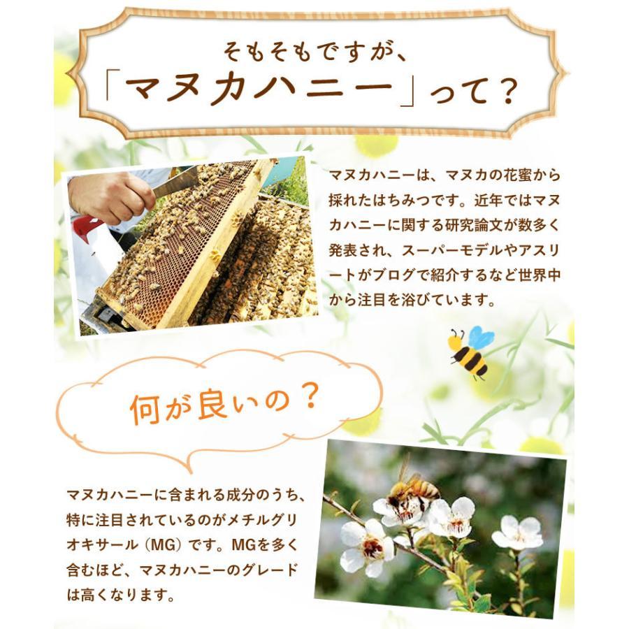 ギフトセット マヌカハニー プレミアム UMF5+ &マヌカハニー100%ロゼンジ(飴)|honeygreenbay|04