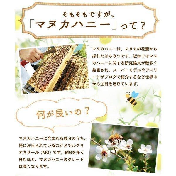 ギフトセット マヌカハニー プレミアム UMF5+ &マヌカハニー100%ロゼンジ(飴)|honeygreenbay|08