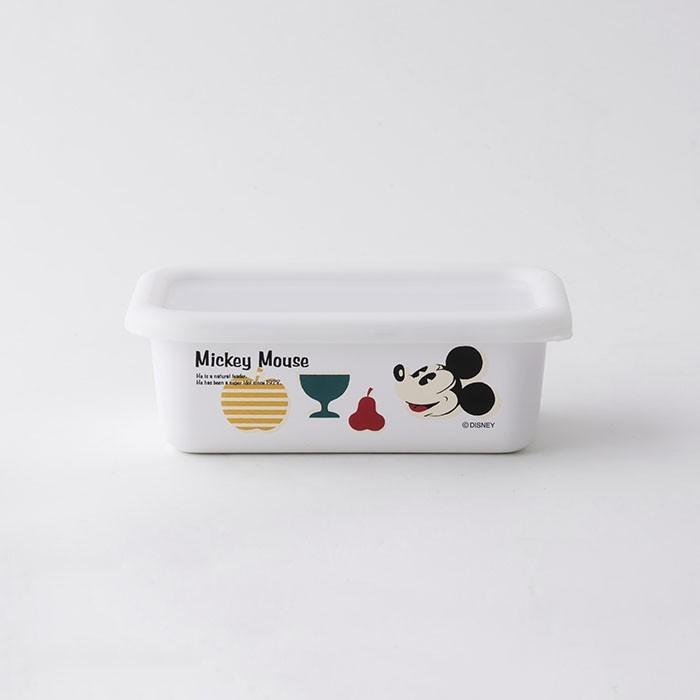 ホーロー 琺瑯 ほうろう Disney 富士ホーロー 浅型容器S ディズニー ハニーウェア オーブン調理対応 ホーロー容器 保存容器 安心のメーカー直販 disney_y|honeyware