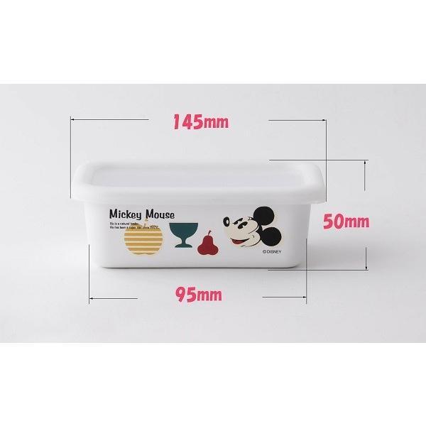 ホーロー 琺瑯 ほうろう Disney 富士ホーロー 浅型容器S ディズニー ハニーウェア オーブン調理対応 ホーロー容器 保存容器 安心のメーカー直販 disney_y|honeyware|02