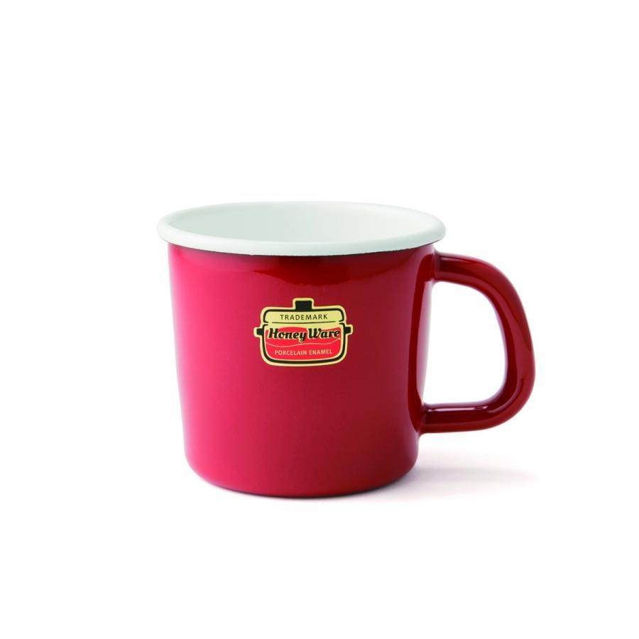 ホーロー マグカップ 保温性抜群 富士ホーロー ハニーウェア キッチン雑貨 Solid ソリッド アウトドア 8cmマグ 安心のメーカー直販|honeyware