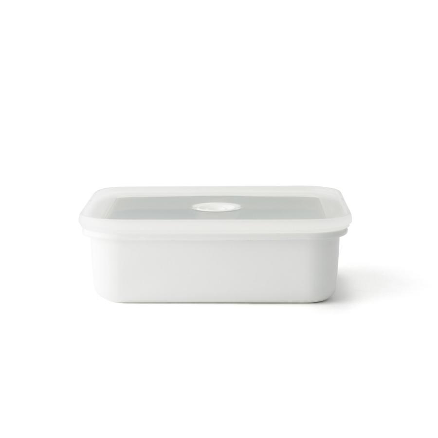 ホーロー 琺瑯 ほうろう ヴィードシリーズ 真空琺瑯容器 浅型角容器 L ホーロー 直火 キッチン Honey Ware ハニーウェア 富士ホーロー 安心のメーカー直販 honeyware