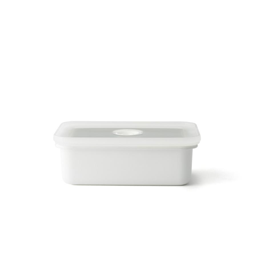 ホーロー 琺瑯 ほうろう ヴィードシリーズ 真空琺瑯容器 浅型角容器M 真空保存容器 直火 キッチン Honey Ware ハニーウェア 富士ホーロー 安心のメーカー直販|honeyware