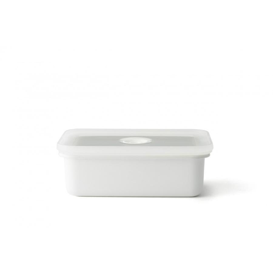 ホーロー 琺瑯 ほうろう ヴィードシリーズ 真空琺瑯容器 浅型角容器S キッチン Honey Ware ハニーウェア 富士ホーロー 安心のメーカー直販|honeyware