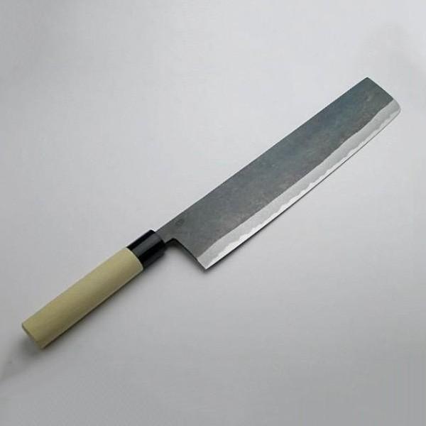 包丁 菜切 白紙二号 大型菜切り包丁300mm ねぎ切り包丁|honmamon
