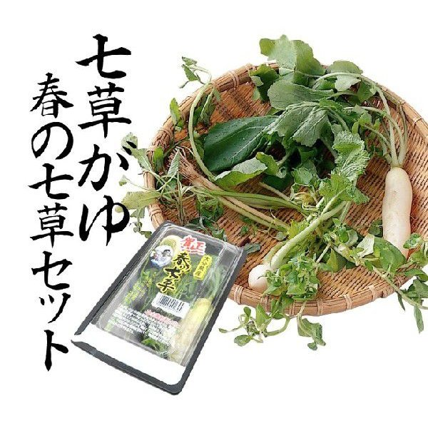 七草粥はこれでOK!春の七草セット - ほんまもん屋&Hanaファクトリー