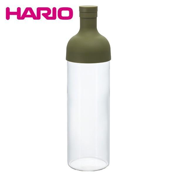 ハリオ HARIO フィルターインボトル 750ml (オリーブグリーン) FIB-75-OG honpo-online