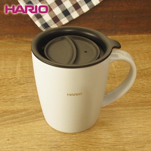 ハリオ HARIO|フタ付き保温マグ300(300ml/グレー) (SMF-300-GR)||honpo-online
