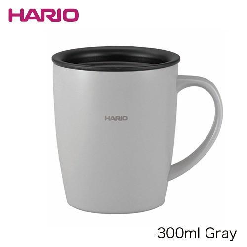 ハリオ HARIO|フタ付き保温マグ300(300ml/グレー) (SMF-300-GR)||honpo-online|02