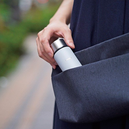ハリオ HARIO|スティックボトル140(140ml/グレー) (SSB-140-GR)|ミニボトル 水筒 ミニ ポケット コンパクト|honpo-online|05