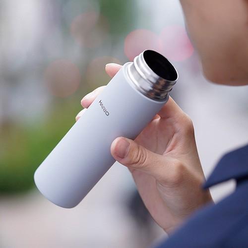 ハリオ HARIO|スティックボトル140(140ml/グレー) (SSB-140-GR)|ミニボトル 水筒 ミニ ポケット コンパクト|honpo-online|08
