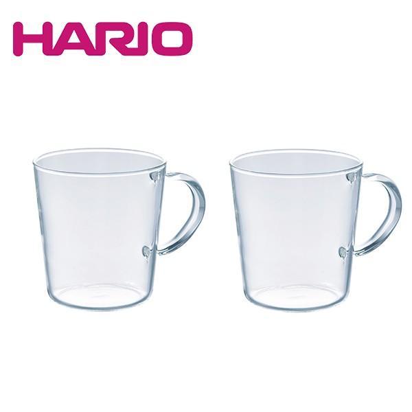ハリオ HARIO ストレートマグ2個セット SRM-1824(熱湯OK/電子レンジOK/食洗機OK) honpo-online