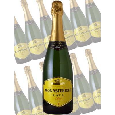 モナステリオーロ カバ ブルット/マルケス・デ・モニストロル 750ml×12本 (白スパークリングワイン)