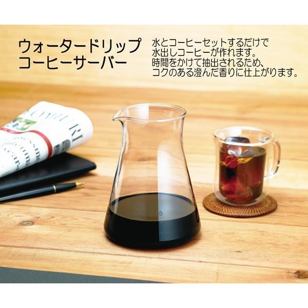 iwaki イワキ ウォータードリップ コーヒーサーバー 実用容量440ml KT8644-CL1 hoonstore 05