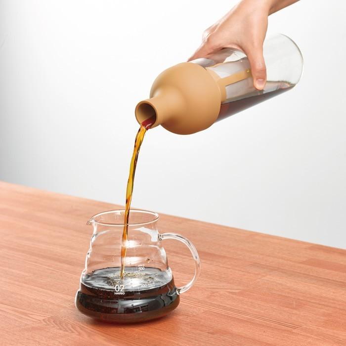 ハリオ HARIO フィルターインコーヒーボトル  出来上がり容量 650ml  カラー:モカ・ショコラブラウン  ※各色別売|hoonstore|02