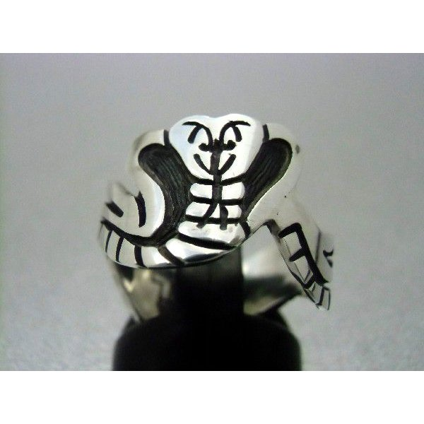 【海外 正規品】 ホピ Fernand 指輪 Fernand 指輪 Puhuhefvaya ヘビ ヘビ, むらげん:ed209cd5 --- airmodconsu.dominiotemporario.com