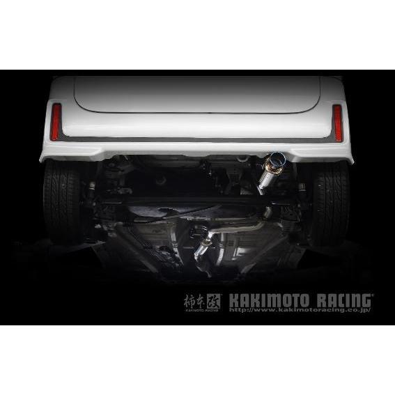 柿本 改 スペーシアカスタム DAA-MK53S マフラー S44335 KAKIMOTO RACING GTbox06&S GTボックス06&S カーショップのみ発送可能|horidashimono|02