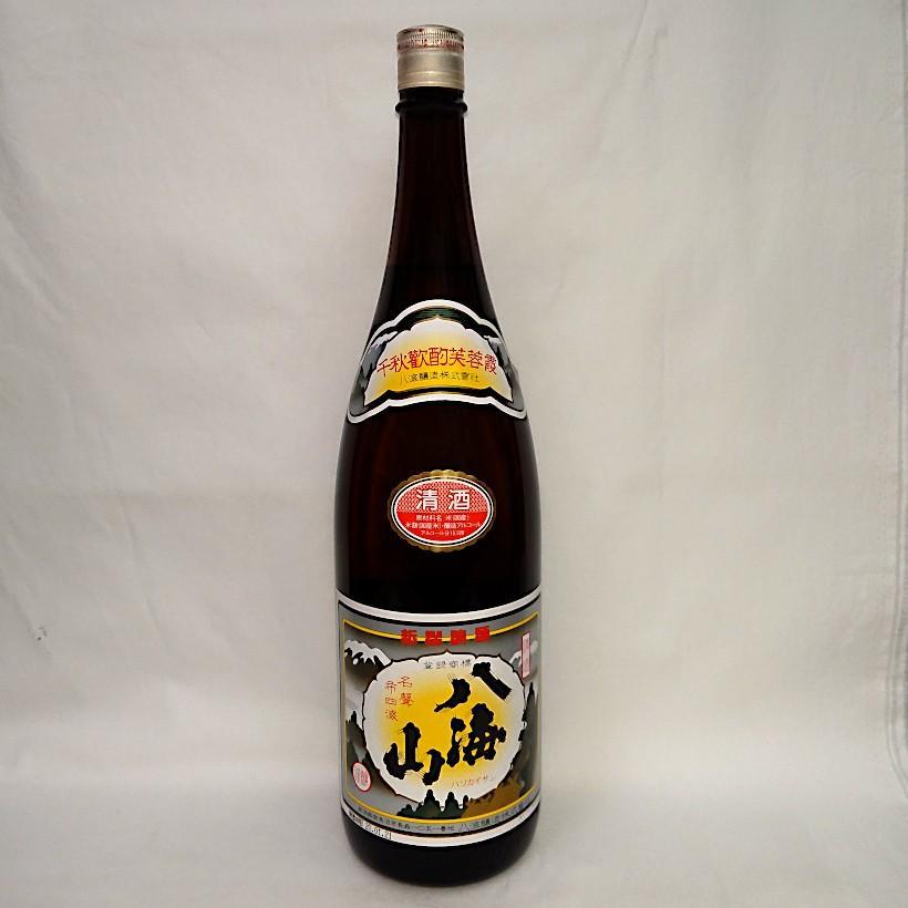 八海山 清酒 1800ml 八海醸造 新潟県 南魚沼市 sake 日本酒 八海山 お歳暮|horie-saketen