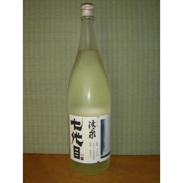 清泉 七代目 純米吟醸 1800ml 新潟県 信越 日本酒 久須美酒造 horie-saketen