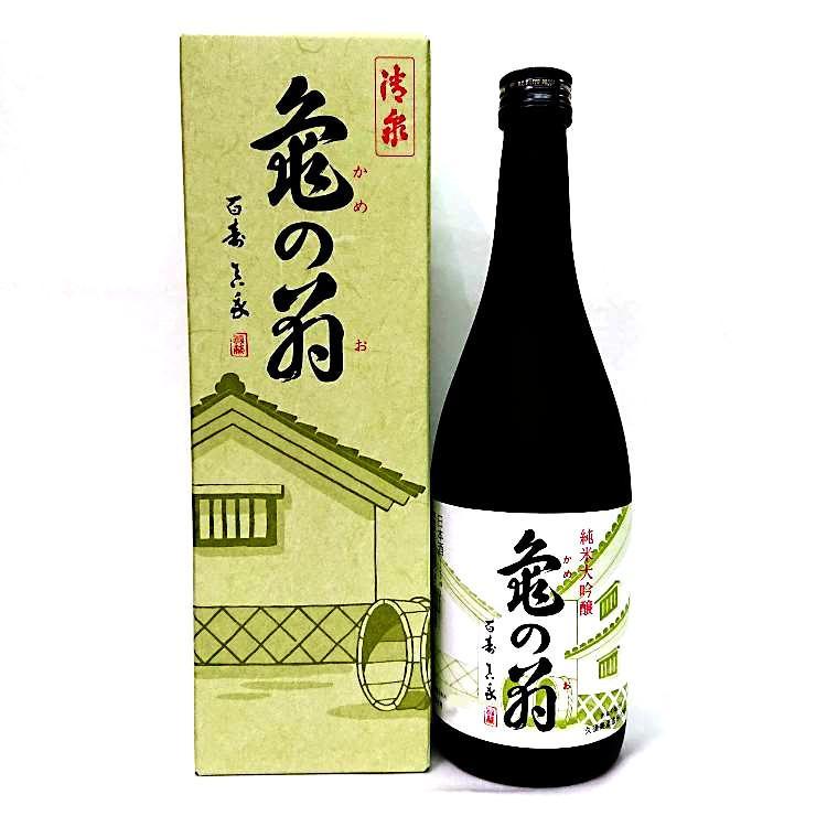亀の翁 純米大吟醸酒 720ml 清泉 新潟県 信越 日本酒 horie-saketen