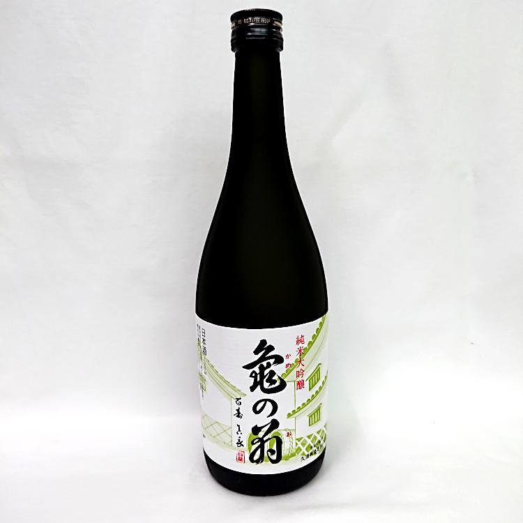 亀の翁 純米大吟醸酒 720ml 清泉 新潟県 信越 日本酒 horie-saketen 02