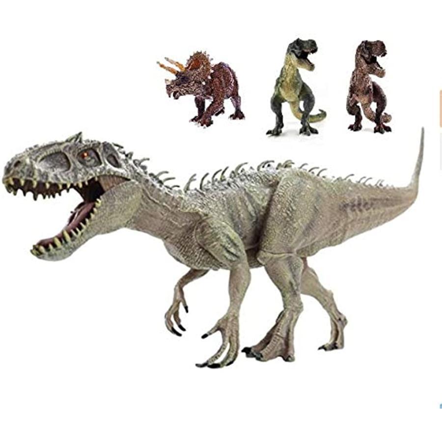 恐竜 フィギュア リアル 模型 定価 ジュラ紀 30cm級 肉食 爬虫類 インドミナスレックス 子供玩具 迫力 超歓迎された
