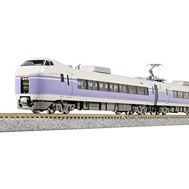 Nゲージ E351系 スーパーあずさ 8両基本セット 鉄道模型 電車[10-1342]