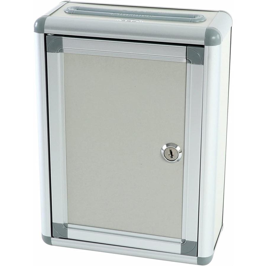 メーカー再生品 鍵付ボックス 投票箱 応募箱 募金箱 回収箱 評価 意見箱 幅:20cmタイプ