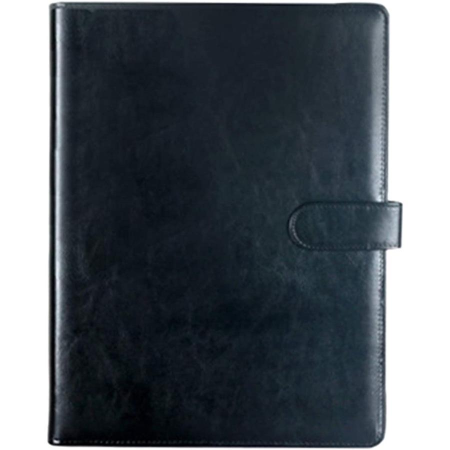 A4 バインダー 多機能バインダー おすすめ特集 ファイルホルダー マグネット式 ビジネス 黒 ノート ファッション通販 黒, 講義用 A4用