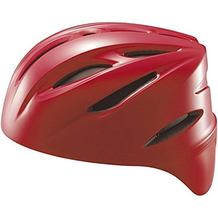 野球 軟式 キャッチャー用 ヘルメット レッド L[BHL40R](レッド(6400), Large)