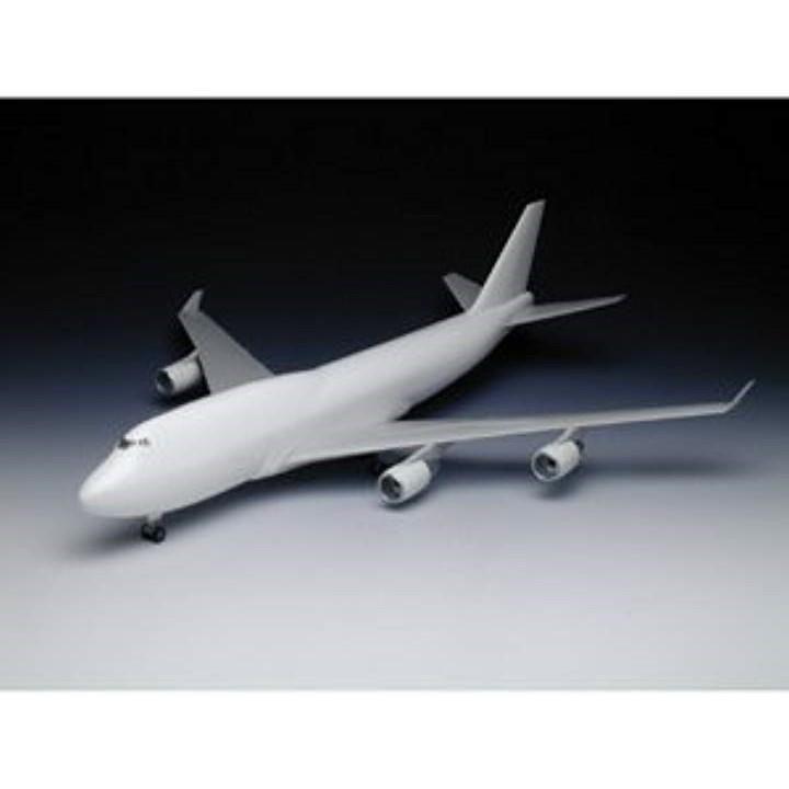 1/200 B747-400 半完成キット プラモデル[AH-1]