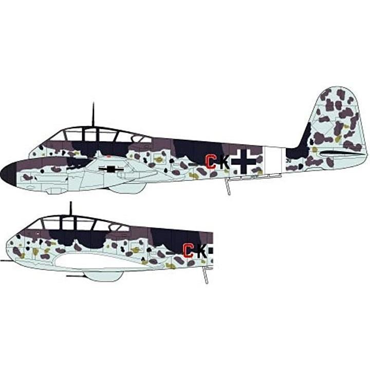 1/72 ドイツ空軍 メッサーシュミット Me410 B-1/U2/R4 プラモデル[FL9]