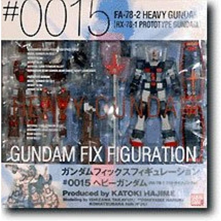GUNDAM FIX FIGURATION # 0015 ヘビーガンダム[43173-468112]