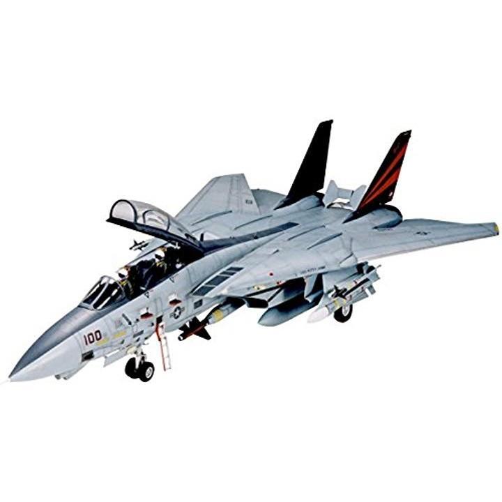 1/32 エアークラフトシリーズ No.13 アメリカ海軍 グラマン F-14A トムキャット ブラックナイツ プラモデル[TMYTAM60313]