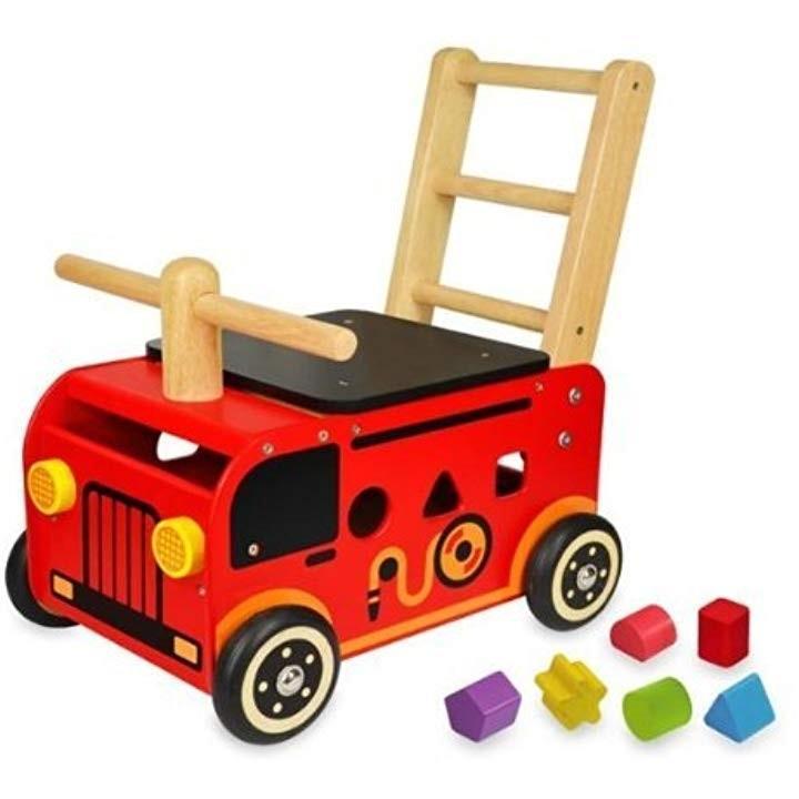 I'mTOY ウォーカー&ライド 消防車[IM-87480]