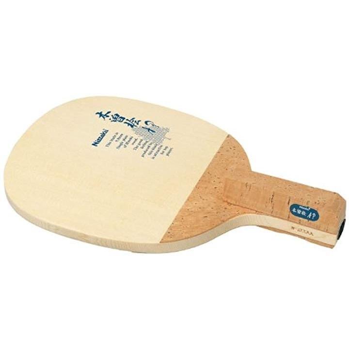卓球 ラケット Pラケット AP ペンホルダー 日本式 木材[NE-6605](角丸型)