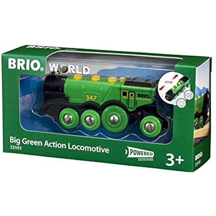 WORLD ビッググリーンアクション機関車[33593]