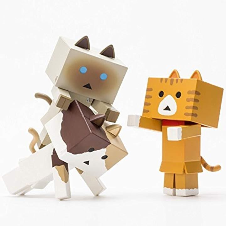 """ニャンボー figure collection2 A set""""sweet 1BOX:3個入りセット ノンスケールABS製 塗装済み可動フィギュア"""