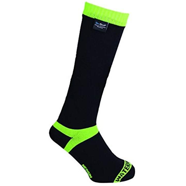 スノーボード&スキー用 防水通気靴下 クールベントソックス M 24-26cm[DS628L](蛍光イエロー, M(24-26cm))