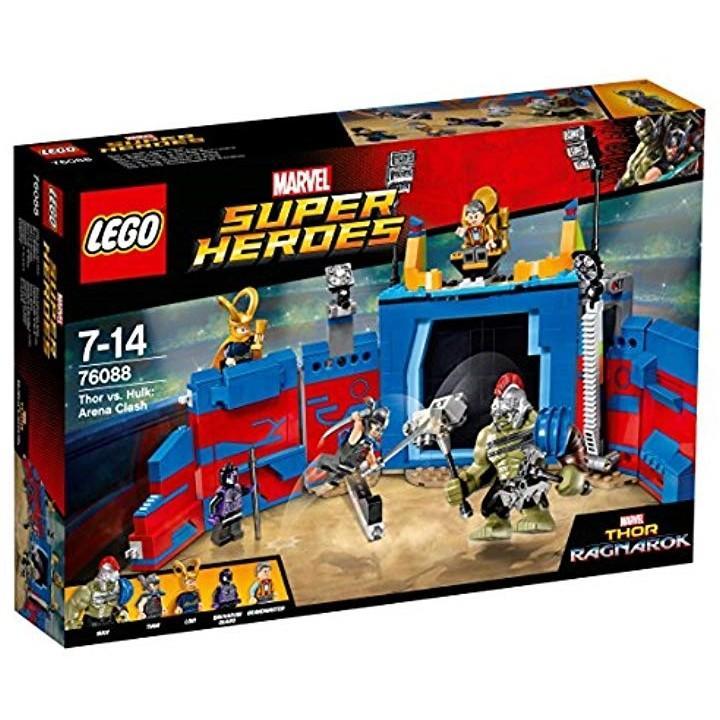 LEGOスーパー・ヒーローズ ソー vs.ハルクアリーナクラッシュ[76088]