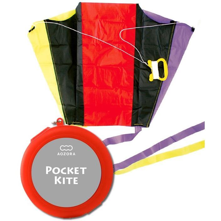 ポケットカイト/POCKET KITE ケース色:レッド あおぞら|horiman