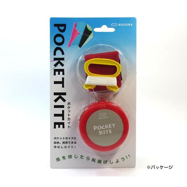 ポケットカイト/POCKET KITE ケース色:レッド あおぞら|horiman|03