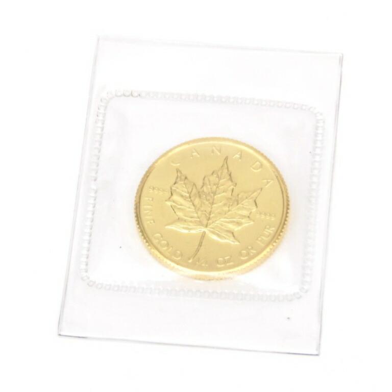 メイプルリーフ金貨 1/4oz メープルリーフ金貨 1/4オンス 1984年(53582)