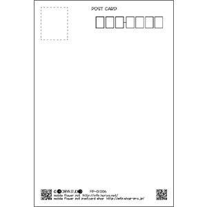 花のポストカード カーネーション(赤)|horiya-studio|03